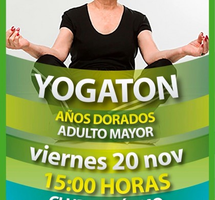 YOGATÓN ADULTO MAYOR