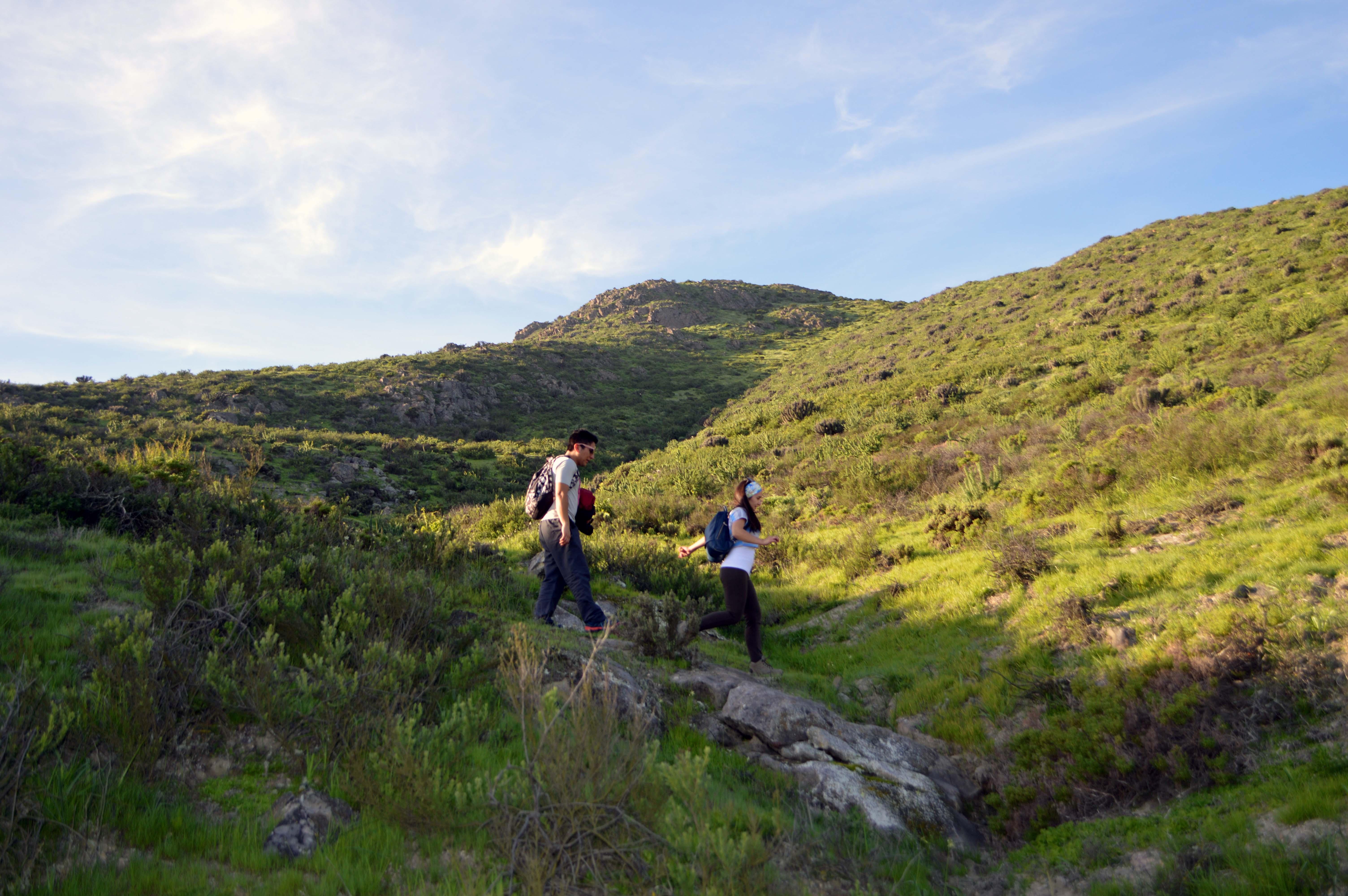 Hiking: el deporte tendencia que puedes realizar en los cerros de Huasco.