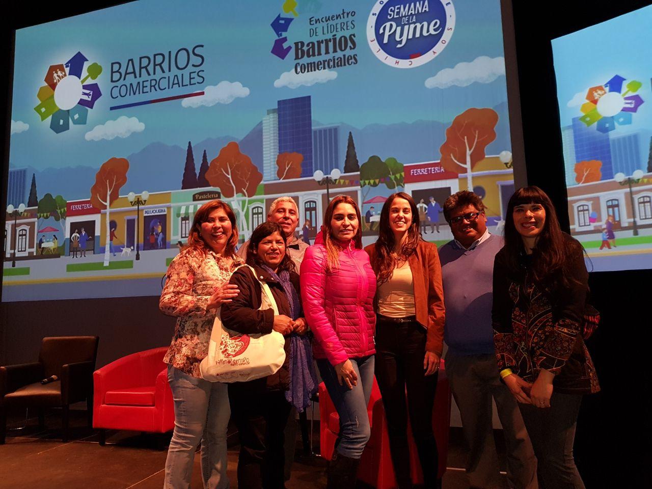 Barrio Craig se destaca en Encuentro de Líderes Nacional de Barrios Comerciales.
