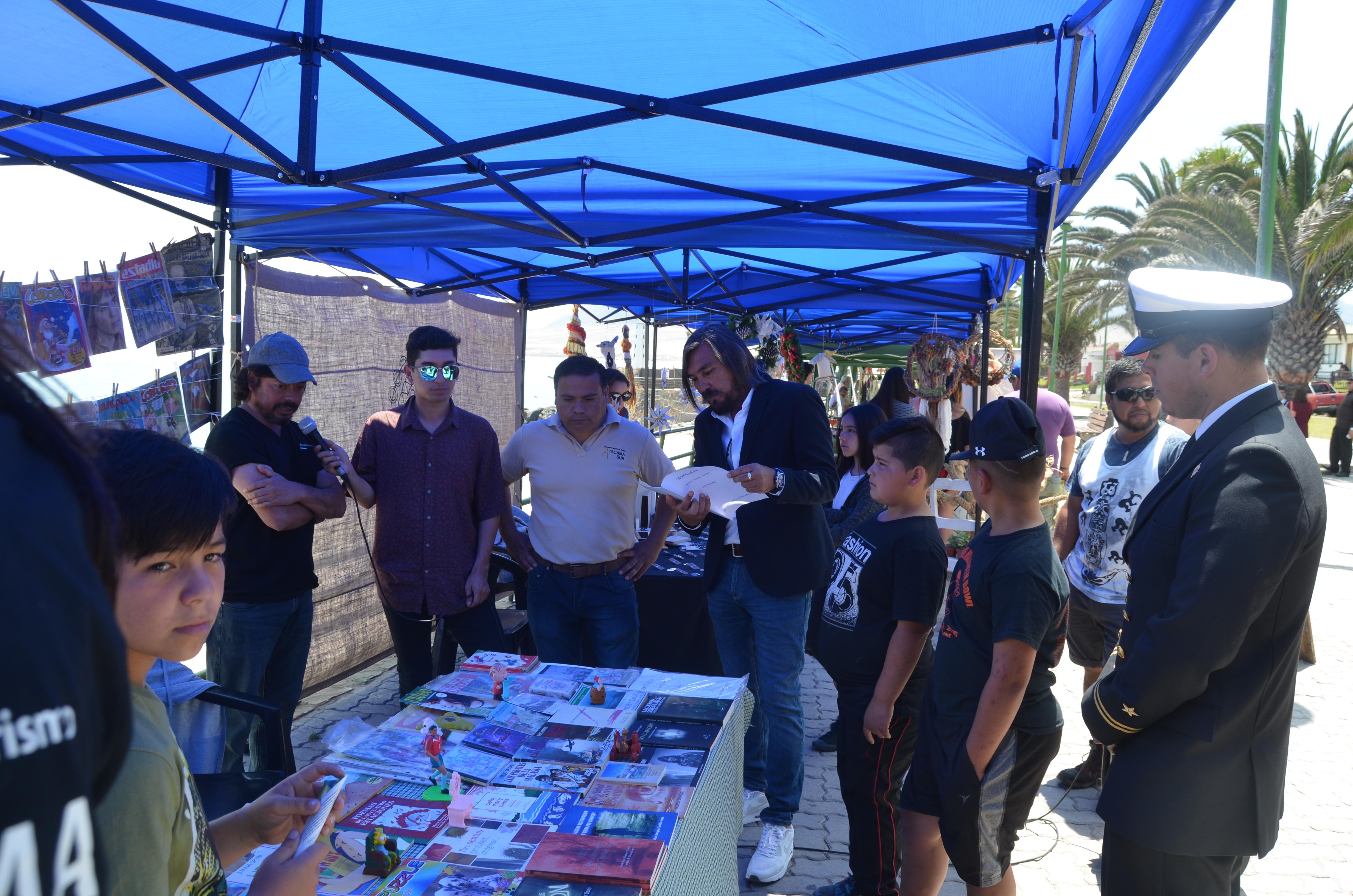 Municipio, Armada y Comerciantes de Huasco dan por inaugurada temporada de verano.