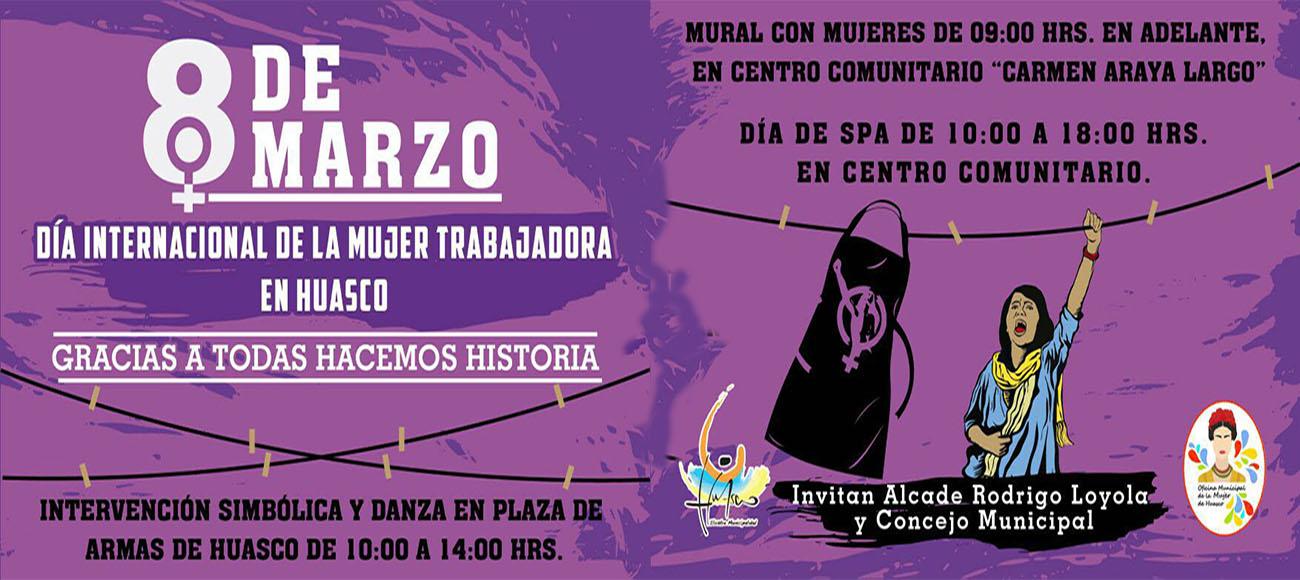 Dia Internacional de la Mujer Trabajadora 8 de Marzo